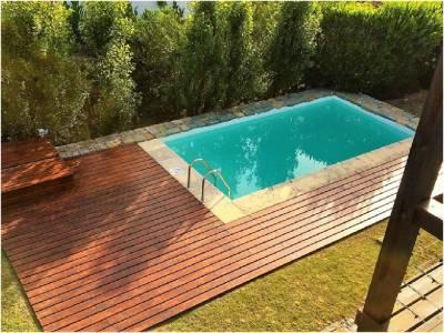 hermosa casa con piscina muy bien decorada