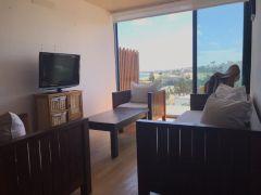 Hermoso apartamento frente al mar de 2 dormitorios, 2 baños y garaje. Vista al mar.