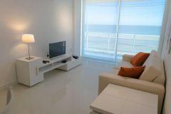 Apartamentos de 1 dormitorio en primera línea de la playa Mansa.
