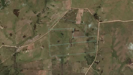 Campo de 76 has con 3245 m2 en en Corte la Leña - a 40 km de Punta del Este -Consulte!!!!