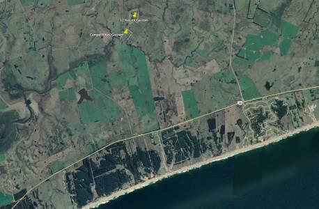 Campo 12 has y otro de 9 has a una cuadra uno del otro en Garzón a 2 km del mar. Se venden Juntos o por separado. Consulte!!!!!!!!