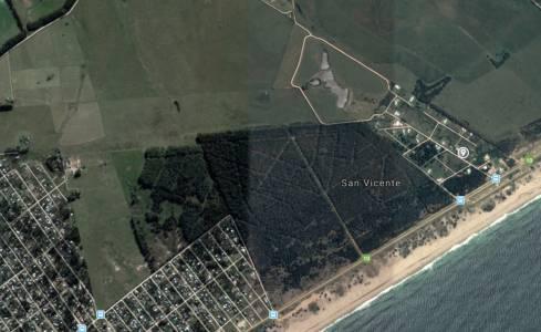 Terreno en barrio Cerrado, muy cerca del mar.