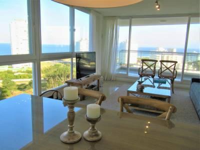 2 dormitorios en Torre One. A 200 mts de la Costa