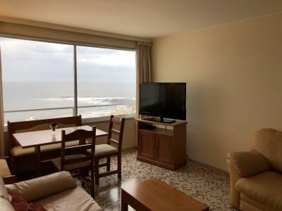 Pensínsula, vista al mar, un dormitorio y  medio, impecable