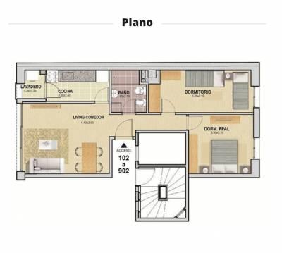 Apartamento a Estrenar con Garaje Centro de Montevideo, se Acepta Permuta menor valor.