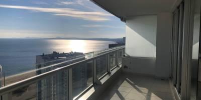 Mansa piso alto con vista al puerto