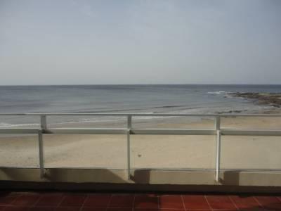 Sobre playa el emir vista directa