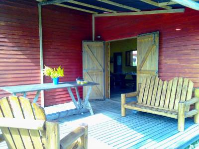 LA PALOMA, Cabañas de madera en  muy buen estado, a pocas cuadras del mar!,  Excelente precio!