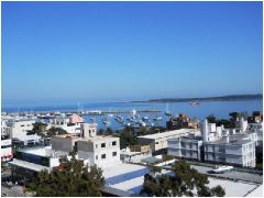 Estupenda vista a la Mansa y al Puerto
