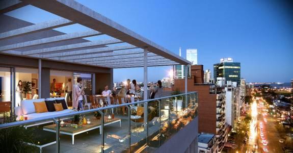 Precioso monoambiente con terraza en la mejor zona de 26 de marzo